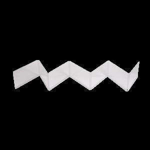 Plexiglaswand Aufsatz 7-teilig (klein)